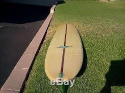 Rare Vintage 1964 Hobie Surfboard Very Clean \ 1966 Newport Beach Surf License