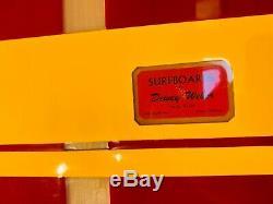 Rare Vintage Dewey Weber Business Card Surfboard