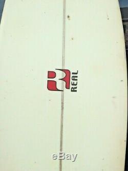 Real Surfboard3 Fin Fiberglass 7'x22x2.6