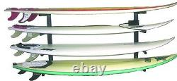 Reef Raxs surfboard wall rack Five PACK 5 boards longboards Aluminum ARMS