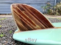 Restored 1962 Jeffrey Dale Longboard 94 Vintage Surfboard 1960s Custom Bing