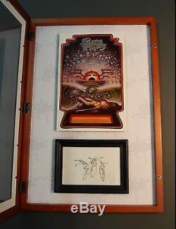 Rick Griffin Tribute Surf Art Pacific Vibrations Original Pencil Sketch with COA