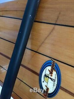 Robert August Nose Rider Longboard Surfboard. WIR In False Balsa Veneer. 84