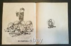 SURFERTOONS Rick Griffin 1964 cartoon masterpiece ULTRA RARE Surfer Magazine