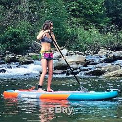 SWONDER 10'6 / 11'6 Inflatable Stand Up Paddle Board Surfing SUP with Pump Leash