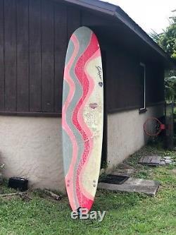 Schaper Surfboard & Case Pink, 8ft Beauty