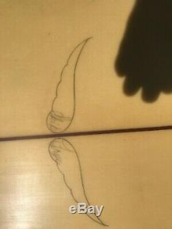 Skip Frye hand shaped surfboard fare condition longboard 8 foot 8 inch