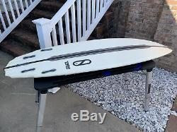 Slater Designs Tomo Sci-fi Lft 59 Surfboard Fcs II Fins Firewire