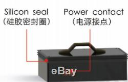 Spare lithium battery for electric surfboard