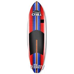 Stand-Up Paddle Board Set Fins Traction Pad Camera Mount Paddle Surf Leash 8