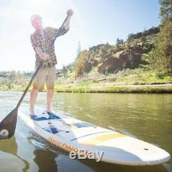 Stand on Liquid Beachwood 11'0 Stand Up Paddle Board Package with Paddle