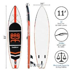 Stand up Paddle board inflatable SUP board FunWater 11' 3358415