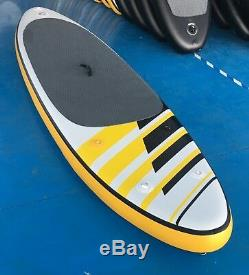 Stand up paddle board for surfing/cruising. Optional Full Carbon Fiber Paddle