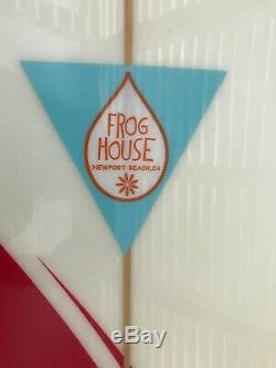 Surfboard 8'0 Frog House with Fins Used Twice