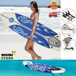 Surfboard Longboard Board Surfing Water Sport Foam Adults with Removable Fins