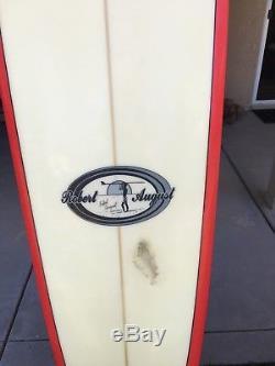 Surfboard longboard Robert August model Wingnut lol