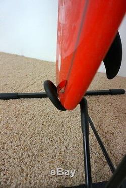 Surfboard longboard free standing rack dispaly freestanding vertical