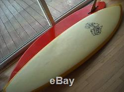 Surfboard, vintage, 1970, yellow, australia
