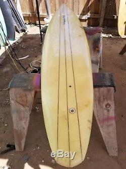 Surfing's New Image Pipeline Single Fin Donald Takayama Vintage As Is Condition