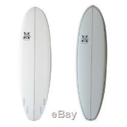 The Bertha Surfboard Epoxy 7' 6 x 23 1/2 x 3 5/8 by JK 7ft