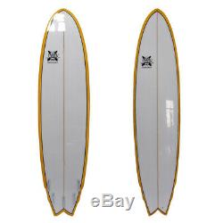 The Big Boy Fish Poly Surfboard Fish 8ft x 23in x 3in by JK 8