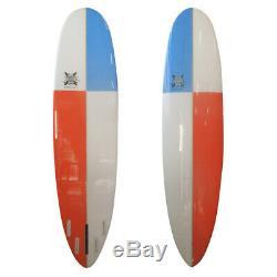 The Soul Carver Surfboard Longboard Poly 7'8 x 22.25 x 3 by JK 7ft