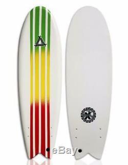 Triple X Soft Top 5' 10 Fishboard Surfboard/Spark/Kid's