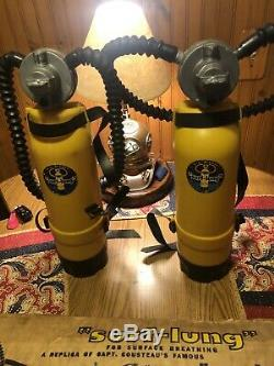 Two (2) USDivers Vintage Scuba Toy Surf Lung