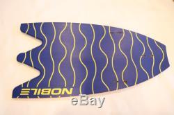Used Nobile Split Kite Surf Board Infinity 5'9 2015 AS IS Surfing Blue Orange