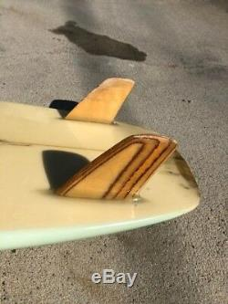 VINTAGE CANYON RUSTY FISH SURFBOARD 1980's