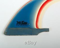 VTG 70's 80's GEOFF McCOY 6 RAINBOW FIN SURFBOARD SURF LAZOR ZAP CHEYNE HORAN