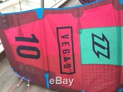 Vegas North Kiteboarding 10 m kite only Red kitesurf wind surfing