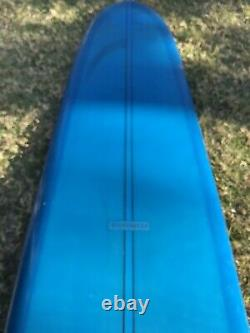 Vintage 1960s Surfboard Rare Winterburn 10-4 Longboard
