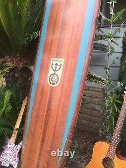 Vintage 1960s era Dextra board surfboard 115 inches
