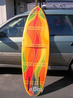 Vintage 1970 chrono synclastic jet board surfboard carpinteria ca RARE RARE RARE