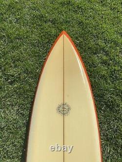 Vintage 1970's Dick Brewer Surfboard 72 Surfing Hawaii