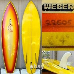 Vintage 1970s Dewey Weber Bonzer Surfboard not Campbell Brothers Vehicles Bing