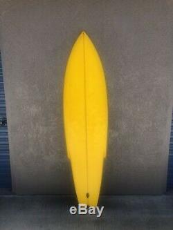 Vintage 1970s Stinger Single Fin Surfboard