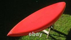 Vintage, 1970s era surfboard by Hanifin surfboard shaped by Peter Schroff 7'-3