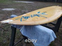 Vintage 5'10 Handshaped Stussy surfboard