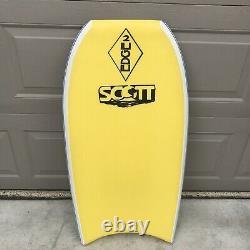 Vintage BZ Custom Scott Edge 2 Pro BodyBoard designed in Hawaii by Bobby Szabad