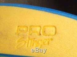Vintage BZ Pro Stinger Bodyboard with Ankle Strap RARE