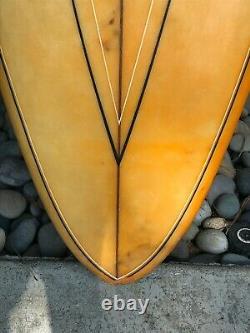Vintage Bing Surfboard 70's Single Fin 7