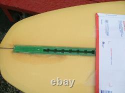 Vintage Bing glass slipper surfboard surfing surfer longboard fin guidence 1970