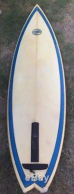 Vintage CARL HAYWARD Surfboard 6'6
