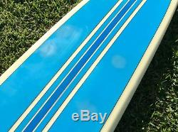 Vintage Custom Hap Jacobs Longboard Pintail Shape