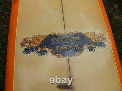 Vintage Gordon&smith Surf Board 92 In X 22.5 In Local Pick Up Only