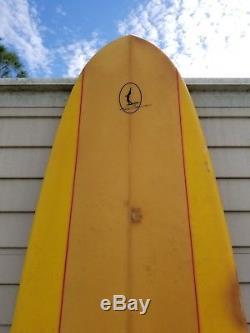 Vintage Greg Noll Longboard Surfboard