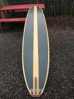 Vintage Greg Noll S STRINGER SURFBOARD 1960s longboard nice surfer surfing rare