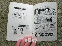 Vintage Greg Noll cartoon history surfing surfboard Rick Griffin book signed mag